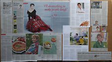 Celia Imrie - clippings/cuttings/articles pack