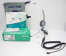 ADD100 HEADSET for Linksys 502 508 921 922 941 942 962 & Polycom 320 321 330 331