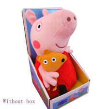 New Peppa Pig Stuffed Soft Figures Toy Plush Doll 19CM/7.5inch Kids Lovely Gift