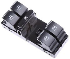 VW GOLF V VI JETTA PASSAT B6 B7 CC AMAROK MASTER WINDOW SWITCH PANEL CHROME NEW