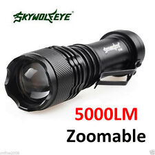 2000LM CREE Q5 AA/14500 3 Modes ZOOMABLE LED Flashlight Torch Super Light