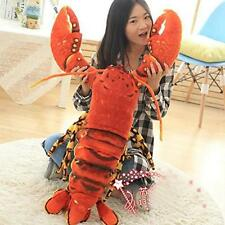 110CM Large Animals Lobster Big Giant Stuffed Soft  Plush Toy Dolls Gift Pillow