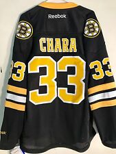 Reebok Premier NHL Jersey Boston Bruins Zdeno  Chara Black Alt sz M