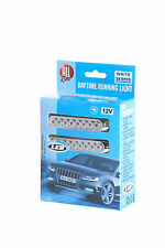 PACK OF 2 LED DAYTIME RUNNING LIGHT CAR VAN DRL SUPER WHITE 8 LED FOG LIGHTS