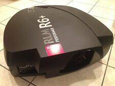 BARCO RLM R6+ PERFORMER 3-CHIP DLP PROJECTOR, 6000 LUMENS, 783 ORIGINAL HOURS!!