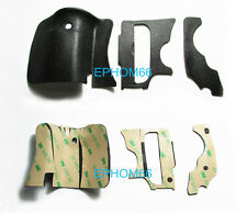 A Set 3 Pieces Grip Rubber Cover Unit For Canon 60D DSLR Camera With 3M Glue