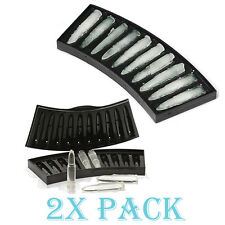 2 Pack x Ak-47 Bullet 3D machine gun Bullets Ice Cube Chocolate Tray DIY M4 M1
