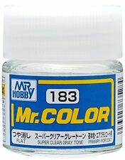 Mr.Hobby Paint C183 Flat Super Clear Gray Tone