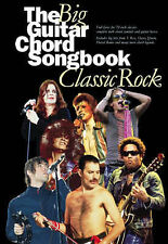 The Big Guitar Chord Songbook Classic Rock Igg Pop The Clash Kiss Spinal Tap S16