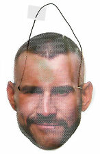 "WWE WRESTLING ""CM PUNK"" FACE MASK NEW OFFICIAL ADULT ONE SIZE"