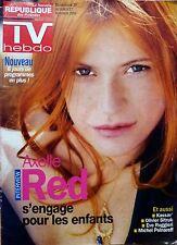 Mag 2004: AXELLE RED _KASSAV'_MELANIE MAUDRAN_Olivier SITRUK