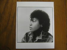 JOAN  ARMATRADING (Love and Affection/Down to Zero)Signed  8 x 10  B & W  Photo