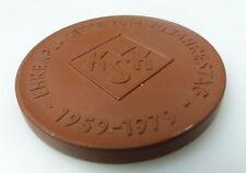 Meissen Medaille: Ehrenplakate zum 20. Jahrestag 1959 - 1979 bu0671