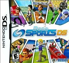 Video Game DS Deca Sports DS Golf Rugby Bobsled Sky Diving Cheerleading Ping Pon
