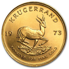 1973 1 oz Gold South African Krugerrand (Brilliant Uncirculated) - SKU #63130