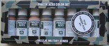 Vallejo Model Colour Val70122 Panzer Aces 1 'Tracks, Rust etc'  paint set