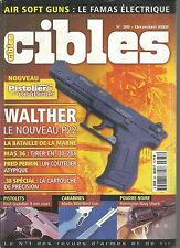 CIBLES N°381 WALTHER LE NOUVEAU P22 / BATAILLE DE LA MARNE / MAS 36 / 38 SPECIAL