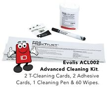 Evolis High Trust ACL002 Cleaning Kit for Evolis Zenius, Primacy & Elypso