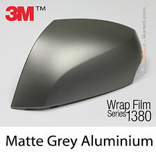 20x30cm FILM Matte Grey Aluminium 3M 1380 M230 Series Car Wrapping COVERING Wrap
