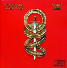 TOTO Toto IV CD BRAND NEW Africa 4