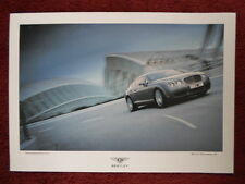 BENTLEY Large A3 size Factory Showroom Poster Print - Continental GT no brochure