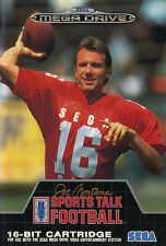 ## SEGA Mega Drive - Sports Talk Football 1, Joe Montana´s - TOP / MD Spiel ##