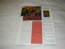 METALLICA SOME KIND OF MONSTER!!!!RARE FRENCH PRESS/KIT
