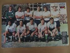 POSTER DE REVISTA AS COLOR REAL RACING CLUB DE SANTANDER 1974-75