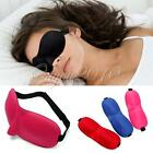 3D Eye Sleeping Rest Travel Sleep Mask Soft Sponge Cover Shade Blinder Blindfold