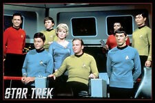 "Star Trek LAMINATED POSTER ""Cast Group Shot, Movie, Sci-Fi, Space"" NEW Licensed"