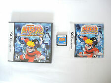 NARUTO NINJA DESTINY SHONEN JUMP complete in box with manual Nintendo DS game