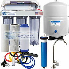 Alkaline Remineralizer Reverse Osmosis 50G Clear Polished Stain. Steel Faucet