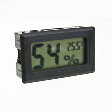 Digital LCD Indoor Temperature Humidity Meter Thermometer Hygrometer 4.8*2.8*2.5