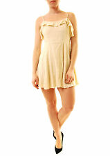 Free People Women's Fashion More Than A Mini Dress Ivory Size XS RRP £65 BCF612