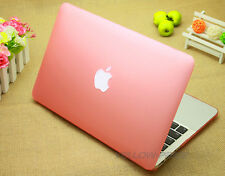 Pink Rubberized Frosted Matte case keyboard cover for Macbook Pro w/Retina 13''