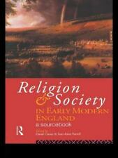 Religion and Society in Early Modern England-ExLibrary