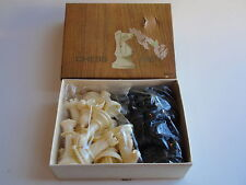 Vintage Peoples Drug Stores Plastic Chess Men Pieces MIB Sealed Bags Hong Kong