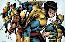 WOLVERINE - EVOLUTION POSTER - 22x34 - MARVEL COMICS 15162