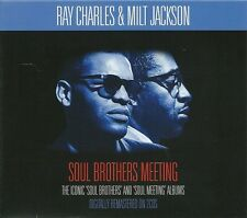SOUL BROTHERS MEETING RAY CHARLES & MILT JACKSON - 2 CD BOX SET