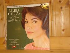 SAX 2410 MARIA CALLAS French Operatic Arias Audiophile COLUMBIA 180g LP NEW SS