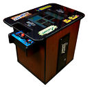 NEW CHERRYWOOD COMMERCIAL VIDEO ARCADE COCKTAIL TABLE Multigame with 1980s Games