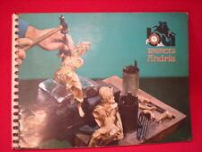Antiguo catalogo de BRONCES ANDRIA vintage retro catalog bronzes brass