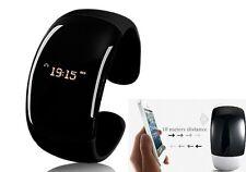 Montre Bracelet Bluetooth Pour Téléphone SMARTPHONE Iphone Samsung Sony Noir