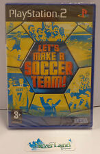 Gioco Game SONY Playstation 2 PS2 PAL ITA SEGA LET'S MAKE A SOCCER TEAM - NUOVO