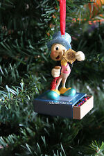 JIMINY CRICKET MATCHBOOK PINOCCHIO DISNEY STORE SKETCHBOOK CHRISTMAS ORNAMENT