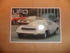 GERRY ANDERSON UFO DVD POSTCARD  vol 1 no 3  ED BISHOP STRAKERS Car SHADO NEW