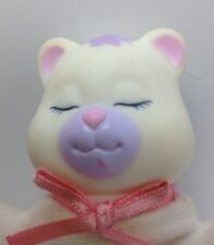 Vintage Hasbro Puppy Surprise Baby  Cub Bear Cubby Girl White Purple Sleeping