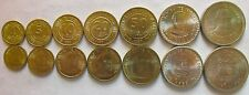 Peru set of 7 coins 1985-1988 (1+5+10+20+50 Centimos+1+5 Intis) UNC