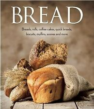 Bread: Breads, rolls, coffee cakes, quick breads, biscuits, muffins, scones and