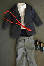 Tonner Matt O'Neill Doll Blue Sport Jacket Grey Pants Red Tie Outfit